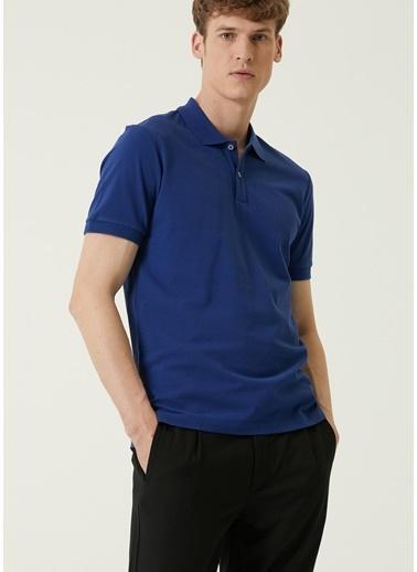 Beymen Collection Beymen Collection  Polo Yaka T-shirt 101580030 Mavi